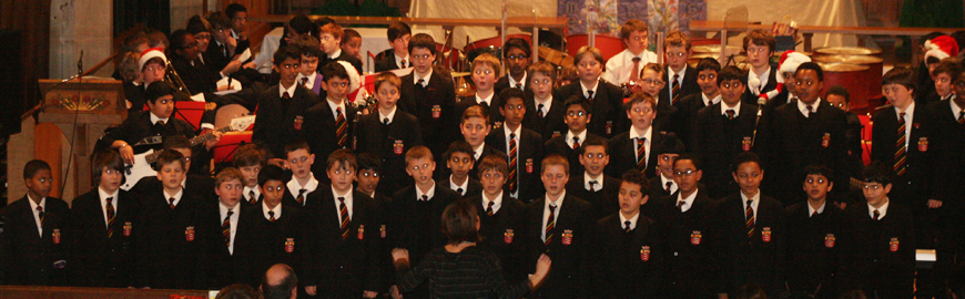 Christmas Carol Concert 2013 at St. Mary's