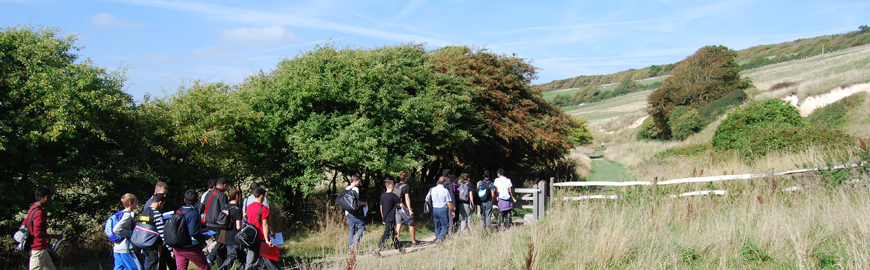 Year 11 Field Trip to Cuckmere Haven