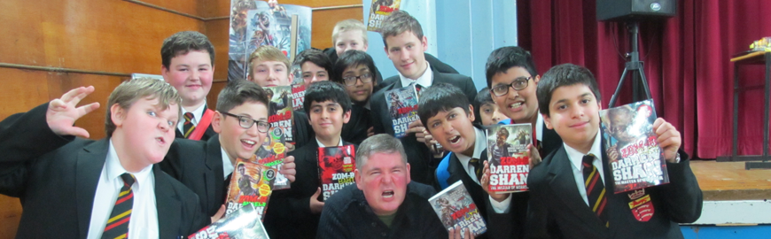 Meet the Author: Darren Shan