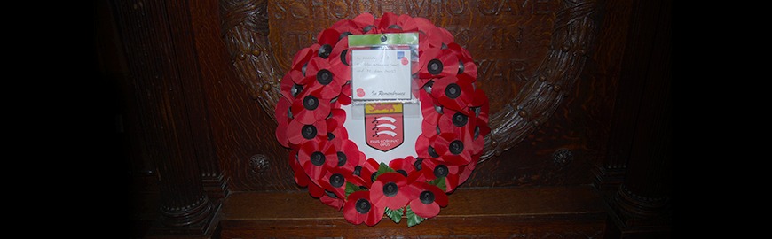 Remembrance Commemorations 2014