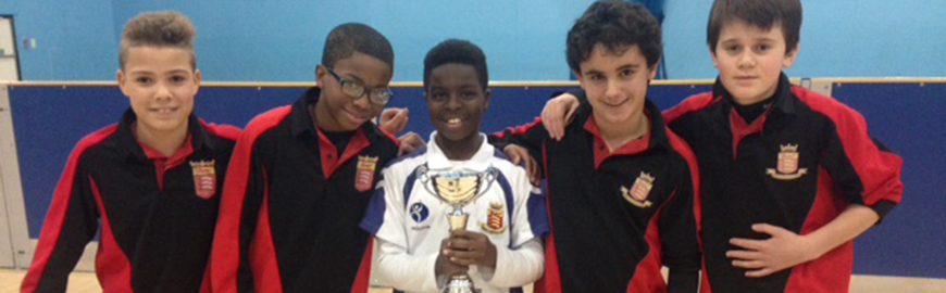 Year 7 Athletes Win Borough Competition