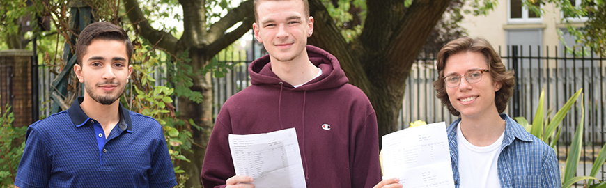 Outstanding A-Level Results – Summer 2016