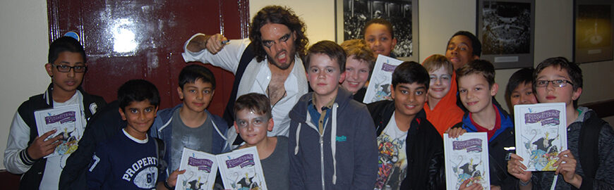 Gallery: Russell Brand at the Royal Albert Hall