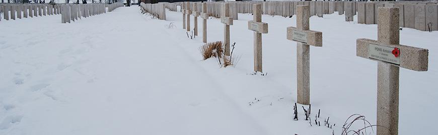 Year 9 Visit Poignant Ypres Memorials