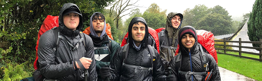 DofE Gold Battle the Elements!