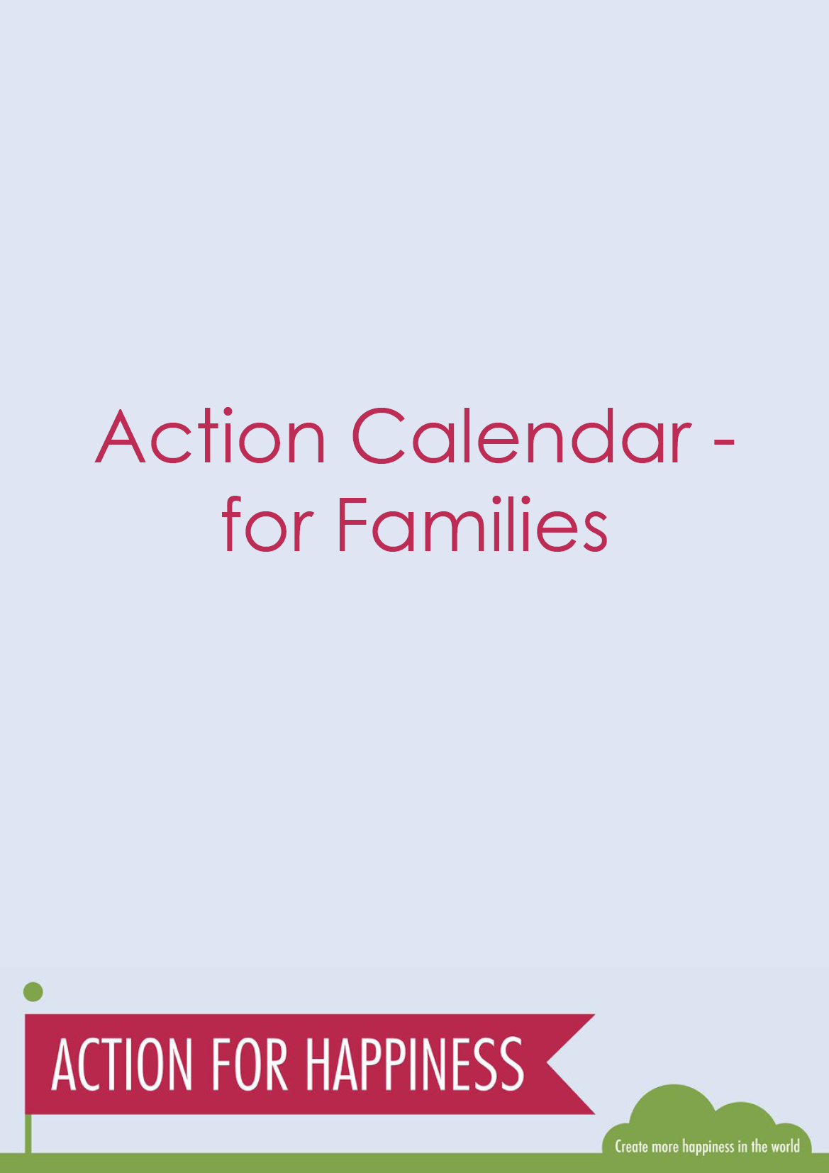 Wellbeing Actions for Families