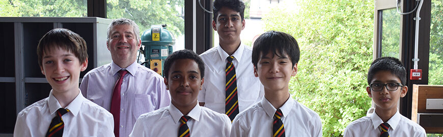 Top 5 in Country – Shell STEM Challenge